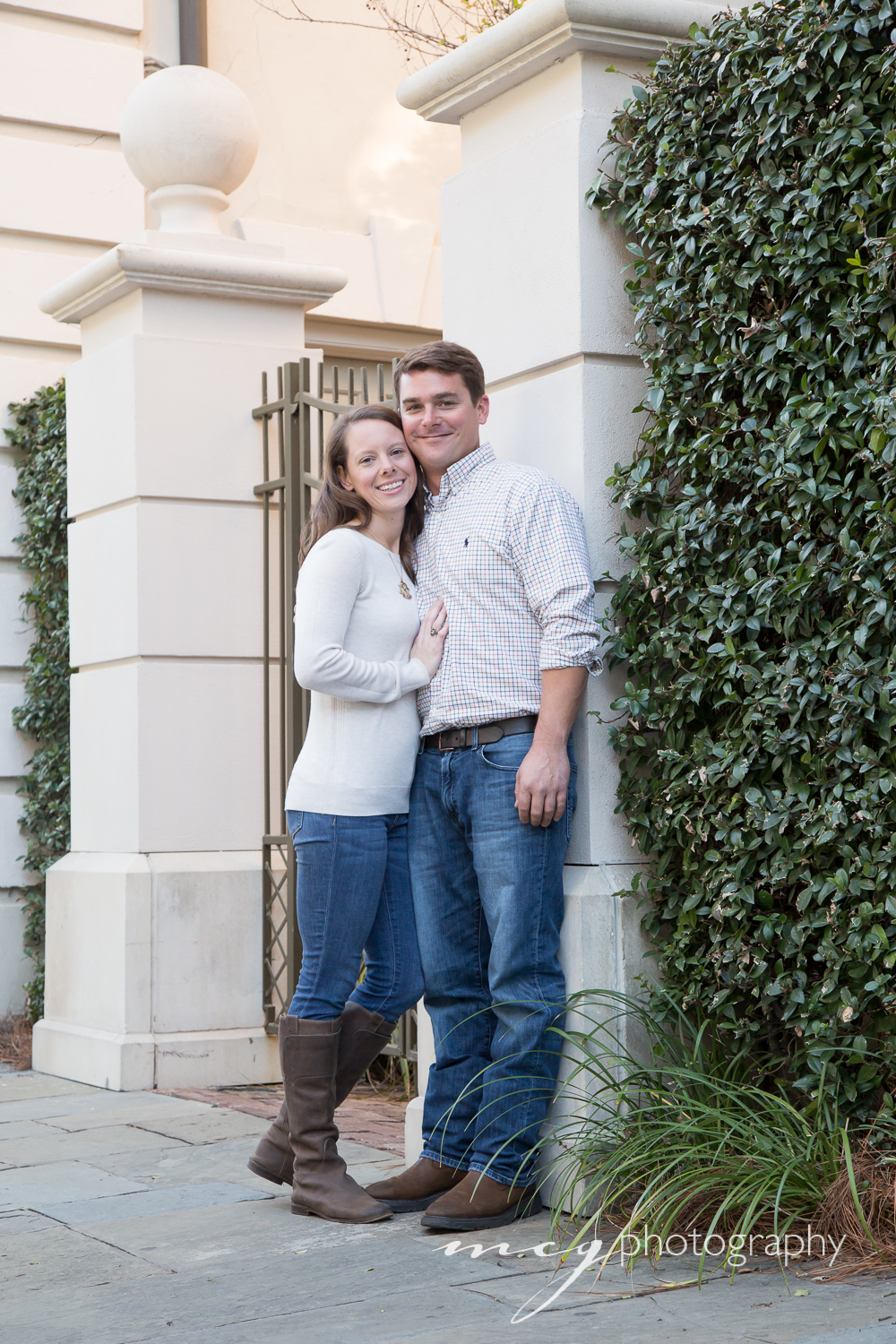 Charleston SC Fall Couple Photography