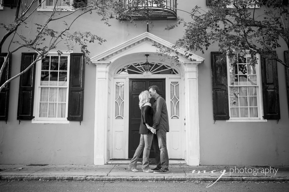 Black and White Charleston Portraits