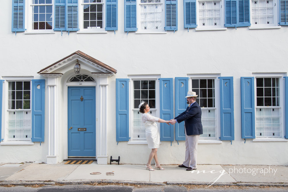Charleston SC Vintage Elopement