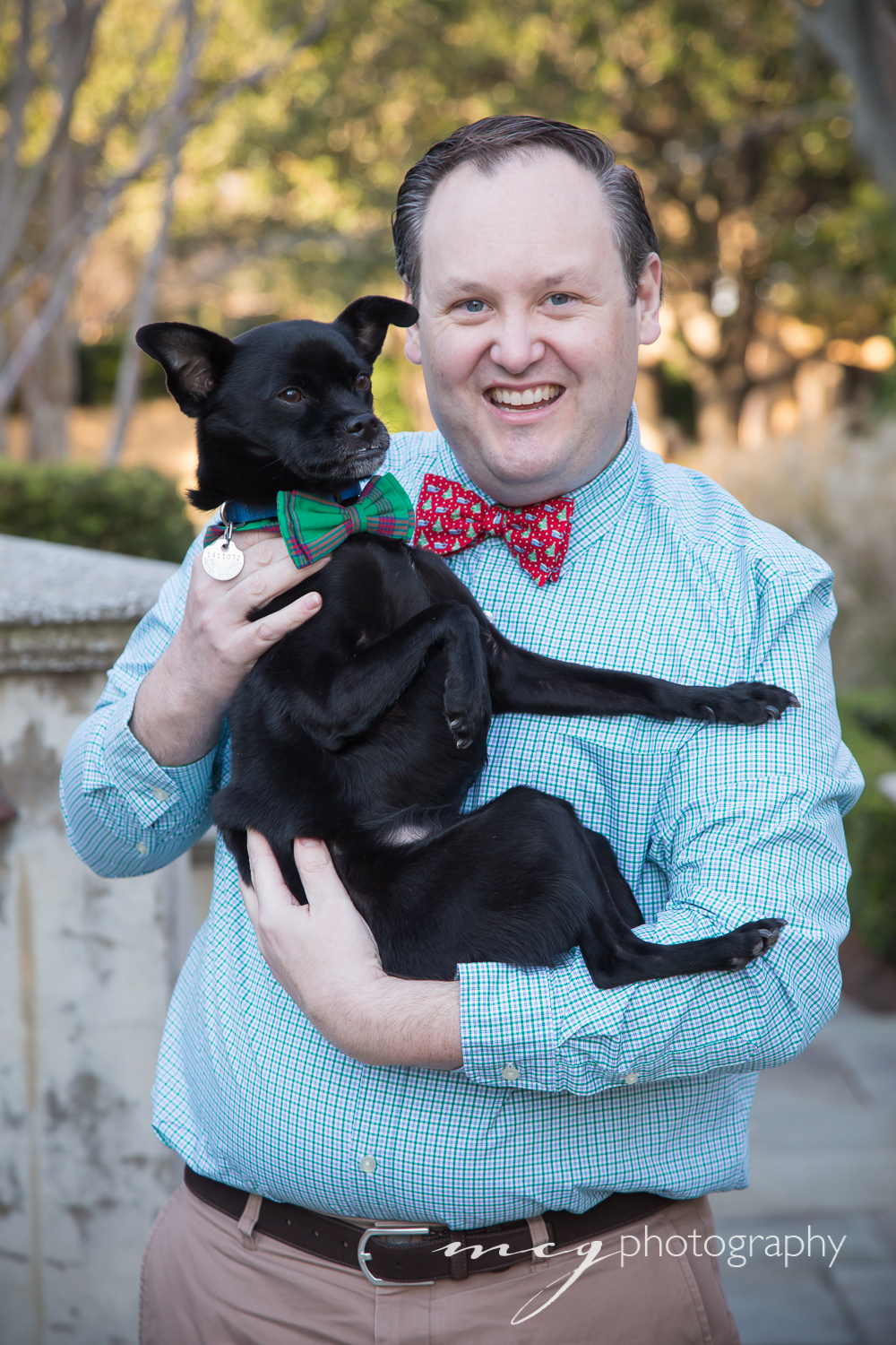 Charleston Bowties and Pups