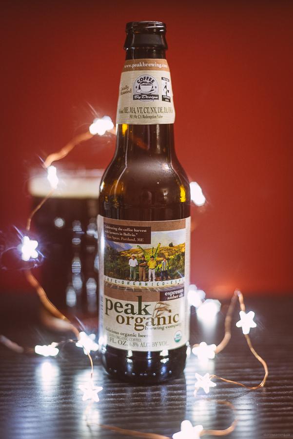 Peak Organic Brewing Company Espresso Amber Ale