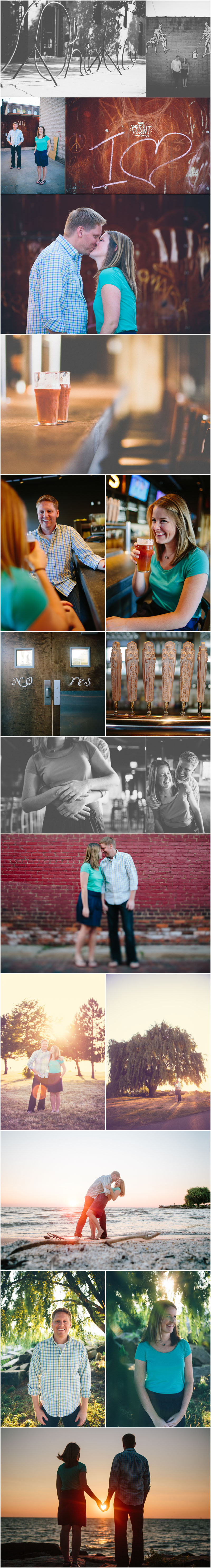 cleveland wedding and engagement photographer www.toomuchawesomeness.com