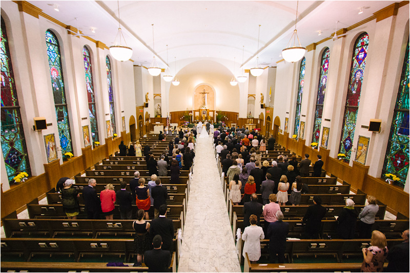 Cleveland Wedding Photographer  St. Lukes Church