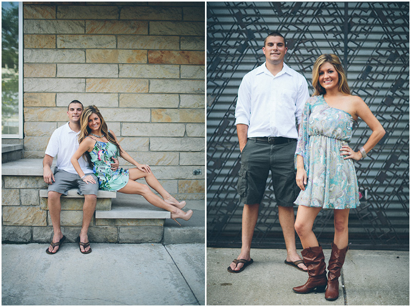 Cleveland Engagement Photographer The Flats