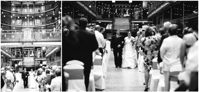 Cleveland Wedding Photographer - Old Arcade