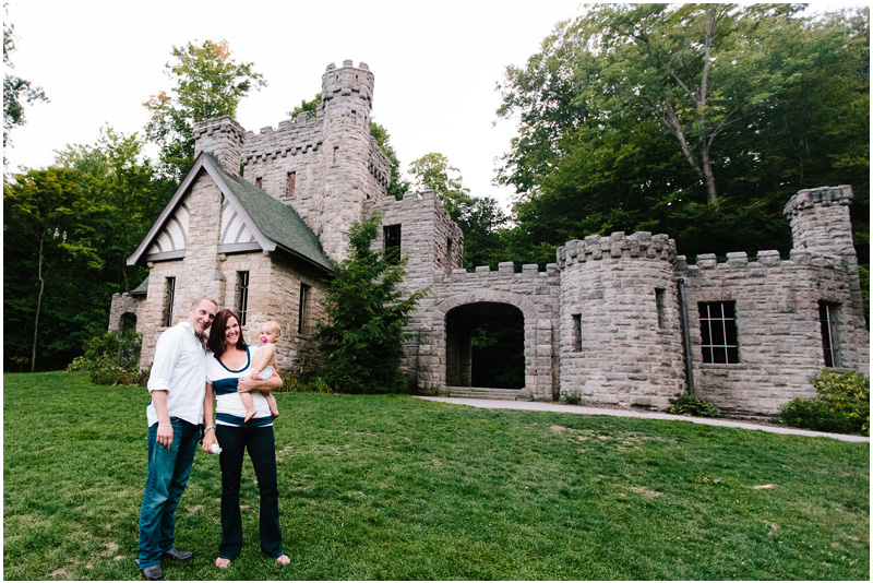Cleveland Family Portrait Photographer Squires Castle
