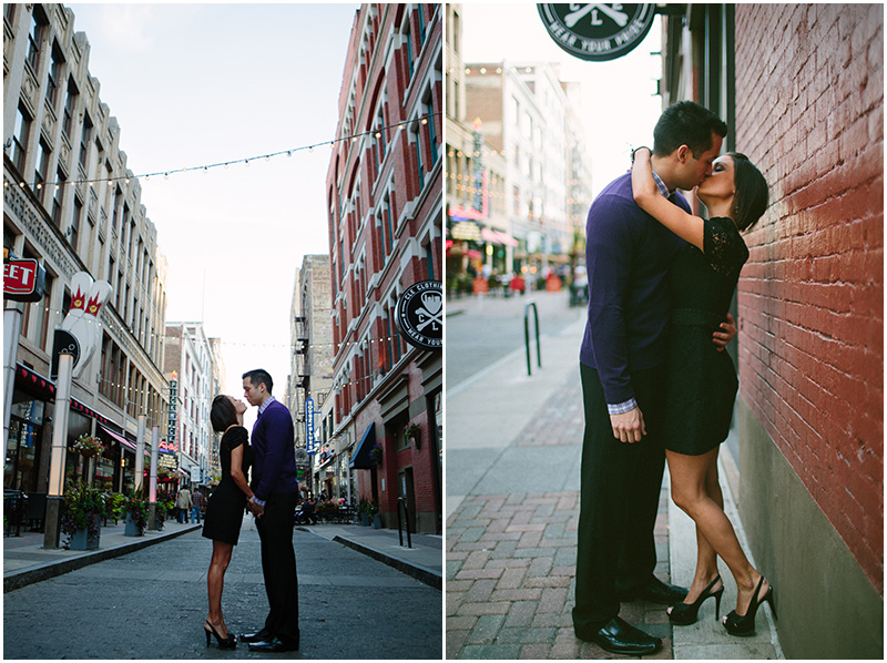 Creative Cleveland Engagement and Wedding Photographer