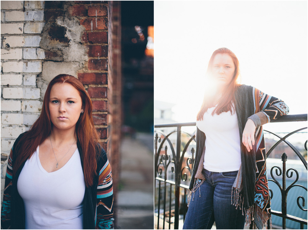 Awesome Senior Portraits in Cleveland - looks like a magazine