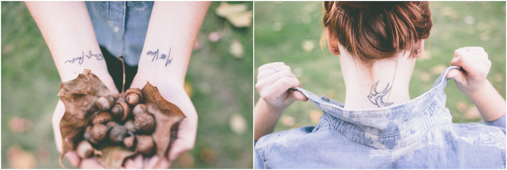 Such cool tattoos - This looks like an awesome ad! - Senior Portraits in Cleveland