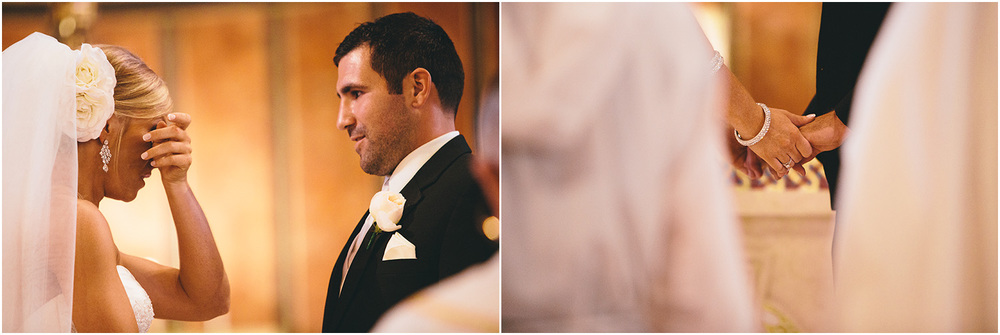 So precious! - Creative Cleveland Wedding Photographer - St. James Church