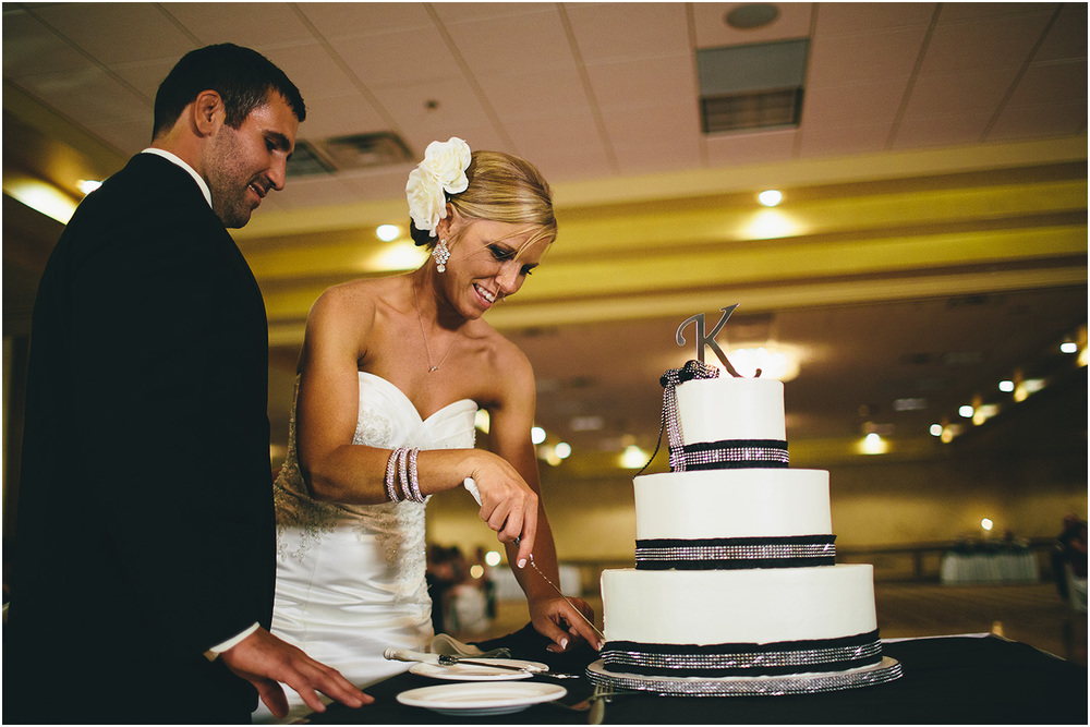 The cake! - Cleveland Wedding Photographer