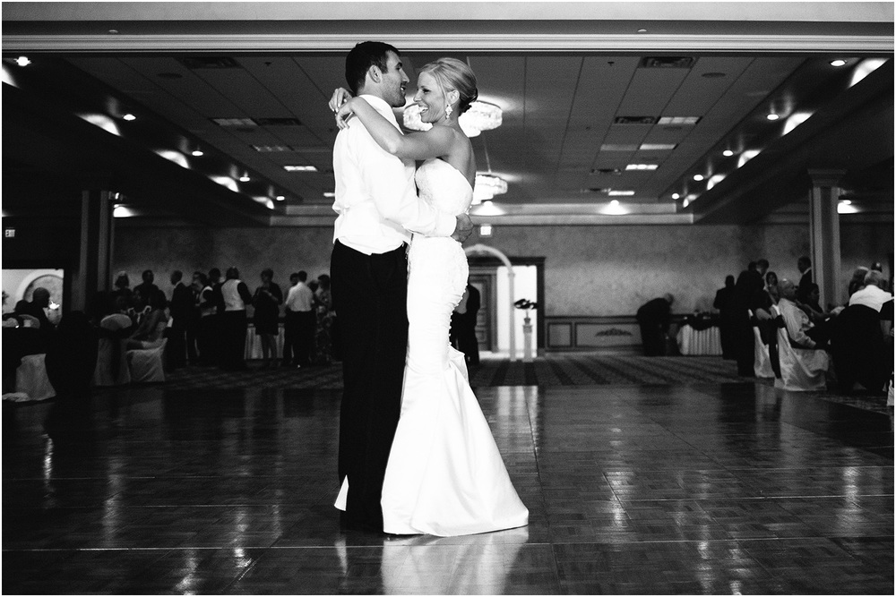 First dance. - Creative Cleveland Wedding Photographer