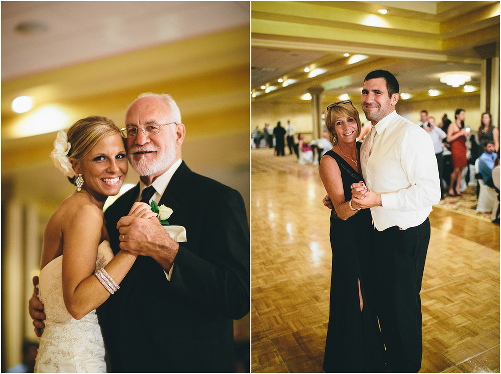 Father/Daughter Mother/Son Dance - Creative Cleveland Wedding Photographer