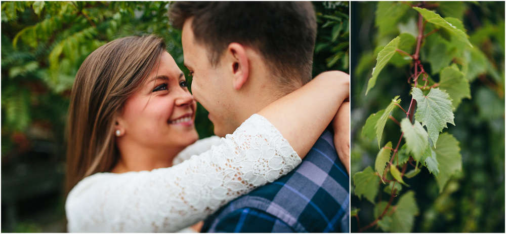 True love! Cleveland Creative Engagement and Wedding Photographer