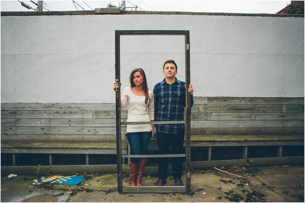 Urban gothic! - Cleveland Creative Engagement and Wedding Photographer