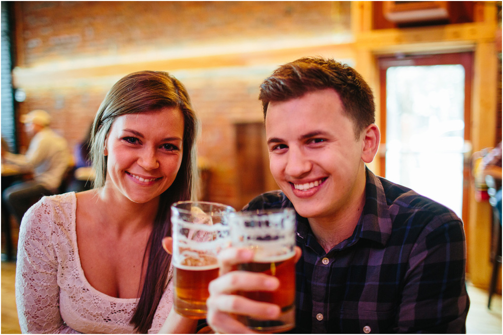 Drinks! - Cleveland Creative Engagement and Wedding Photographer