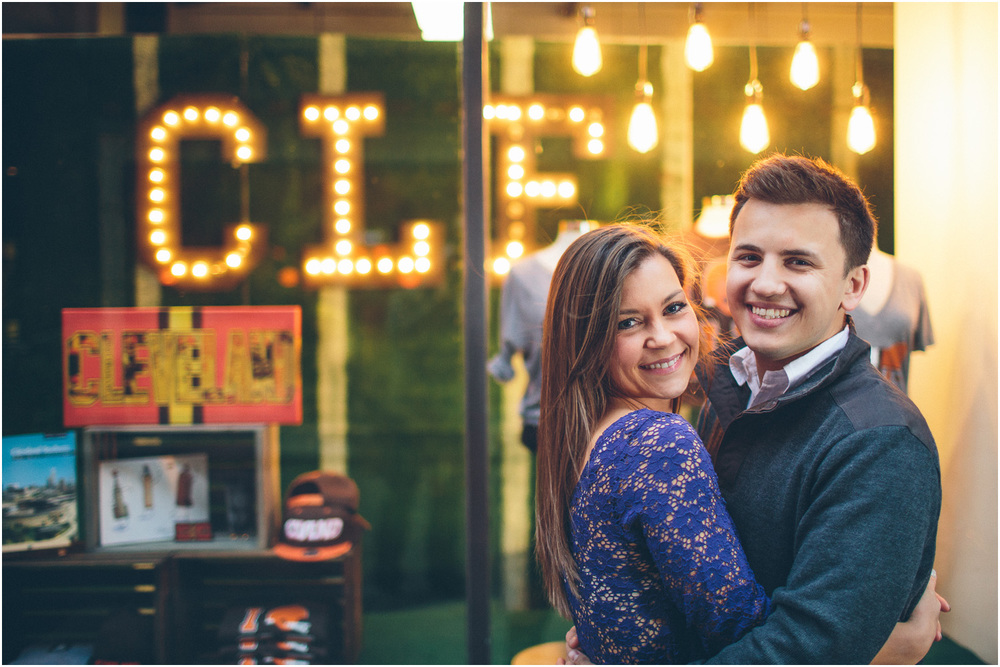 CLE Clothing on east 4th! Cleveland Creative Engagement and Wedding Photographer