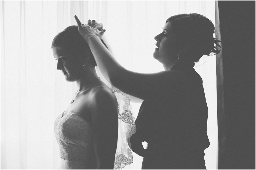 Getting ready! - Chicago Wedding Photographer - Catigny Park