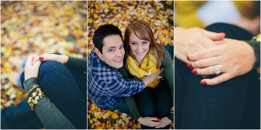 Beautiful fall colors! - Cleveland Engagement Photographer