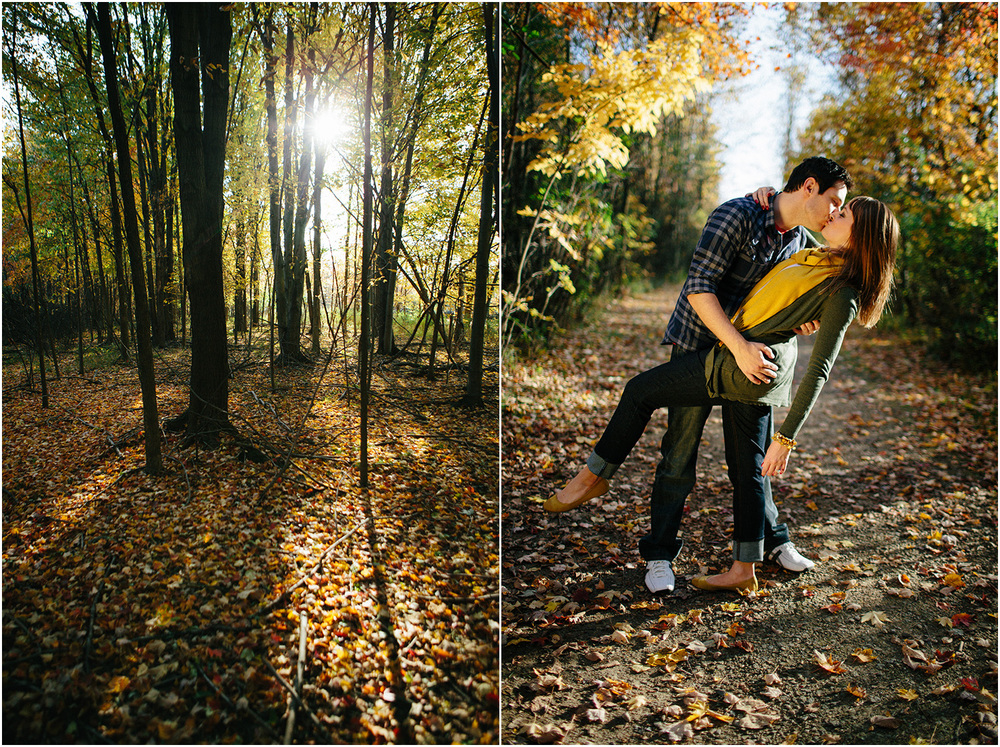 Beautiful sun! Cleveland Engagement Photographer