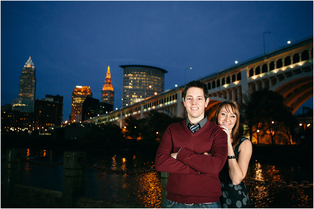 Cleveland that I love! - Cleveland Engagement Photographer