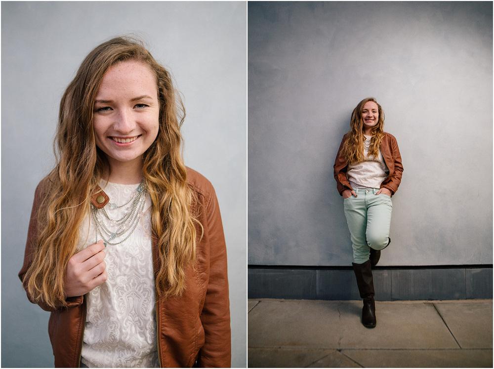 Looks like a magazine! - Cleveland Senior Portrait Photographer - Ali Garrity - Mentor High School