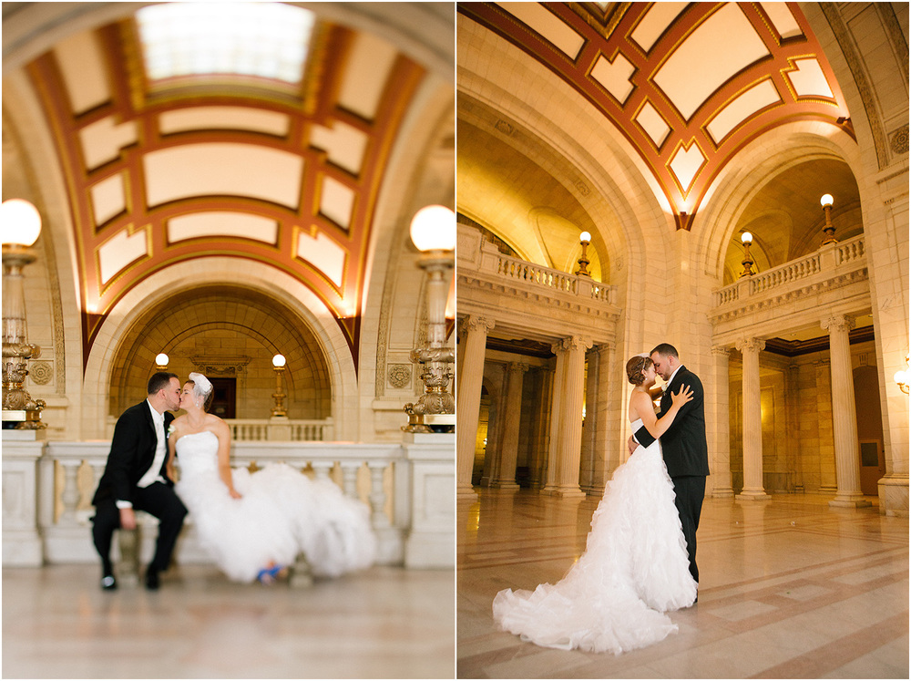 C leveland Wedding Photographer - Fountain Bleau - Old Courthouse - Madelyn and Bob