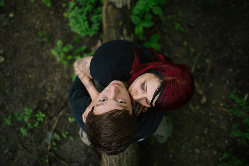 Cleveland Engagement Photographer in Metro Parks