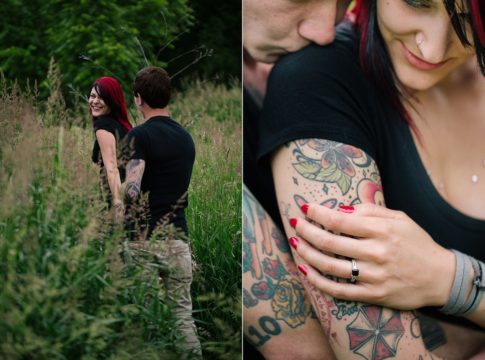 Cleveland Engagement Photographer Metro Parks