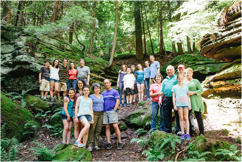 Kings of Summer Family Portraits in Cuyahoga Valley National Park