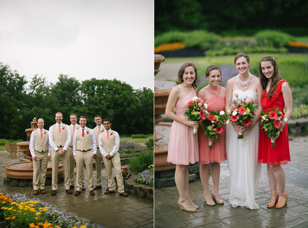 Cleveland Wedding Photographer Garden Flowers Florist