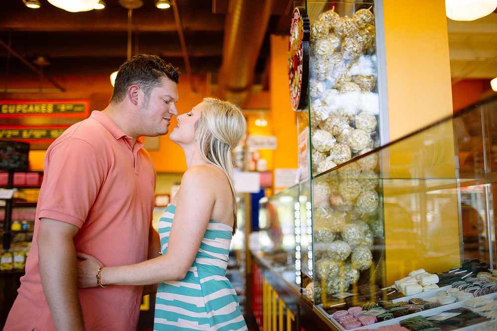 Cleveland Wedding Photographer Ohio City Engagement Samantha and Andrew