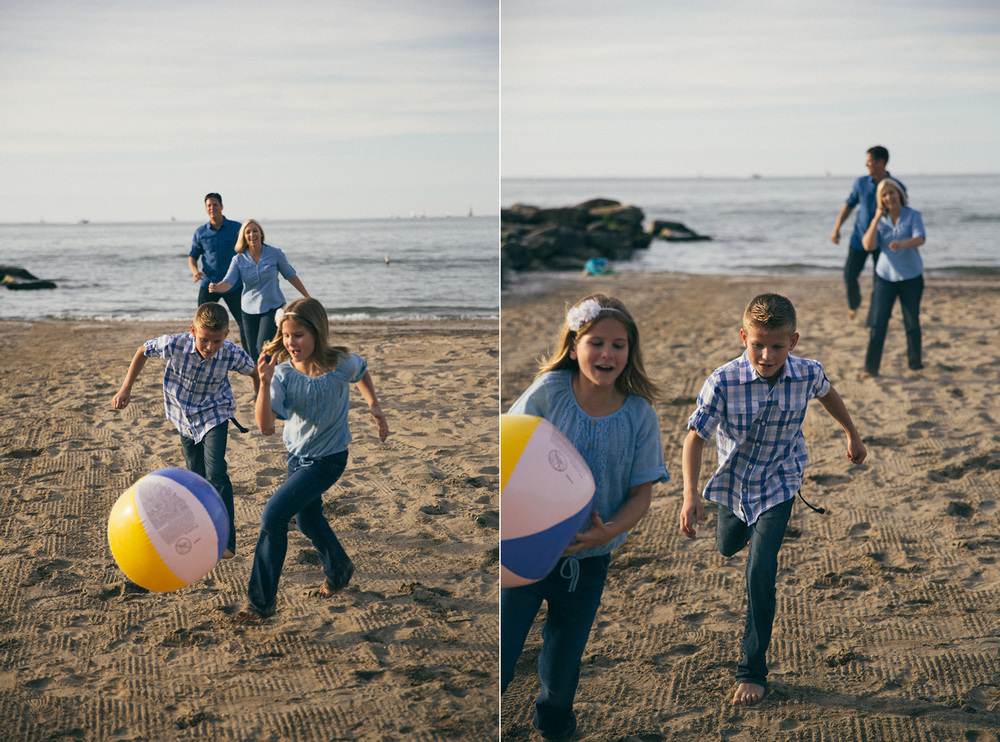 Cleveland Family Photographer Edgewater Beach Rocky River Metroparks
