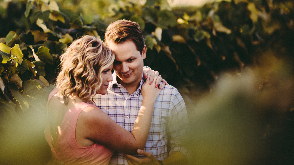 Cleveland Engagement Photographer Ohio Winery and Vineyard Bridget and Joe