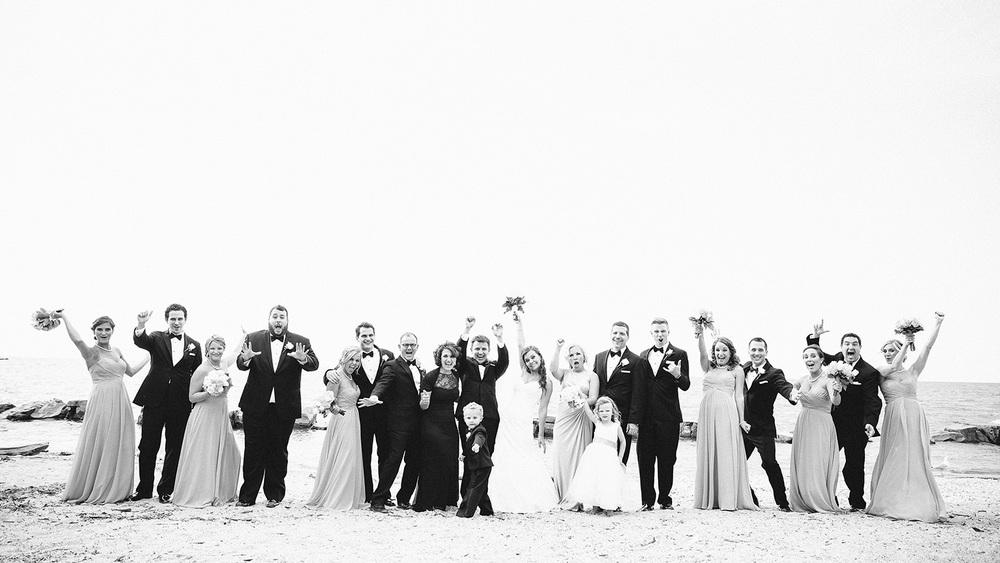 Cleveland Wedding Photographer Marriott Hotel Beach Rocky River - Nikki and Dave 33.jpg