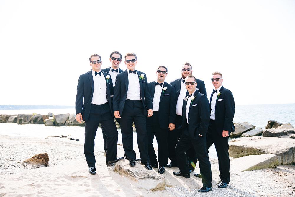Cleveland Wedding Photographer Marriott Hotel Beach Rocky River - Nikki and Dave 36.jpg