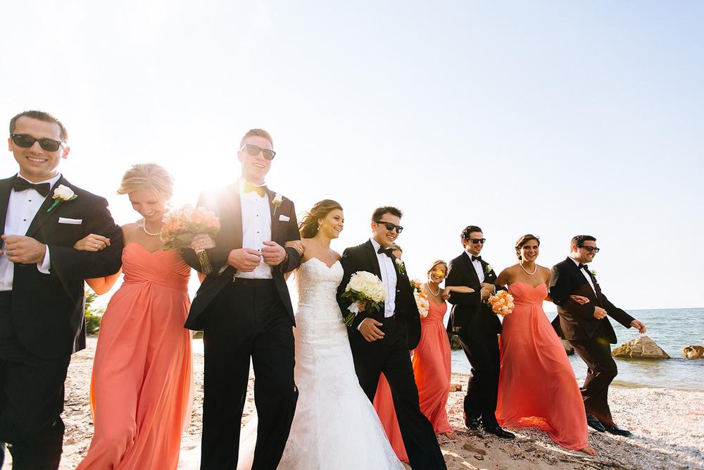 Cleveland Wedding Photographer Marriott Hotel Beach Rocky River - Nikki and Dave 38.jpg