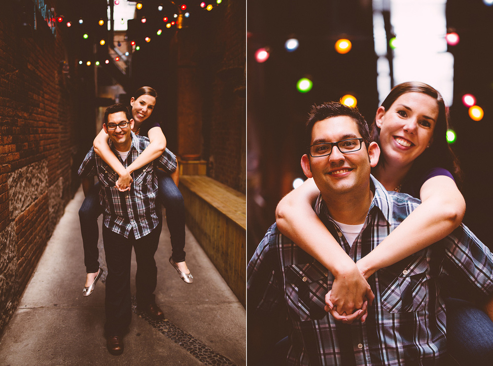 Cleveland Engagement Photograpgher East 4th, Browns Stadium, Progressive Field - Leslie and Max 02.jpg