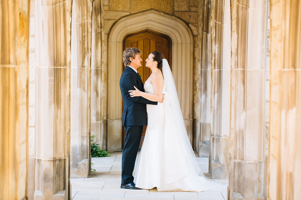 Frances + Andre a chicago wedding in evanston
