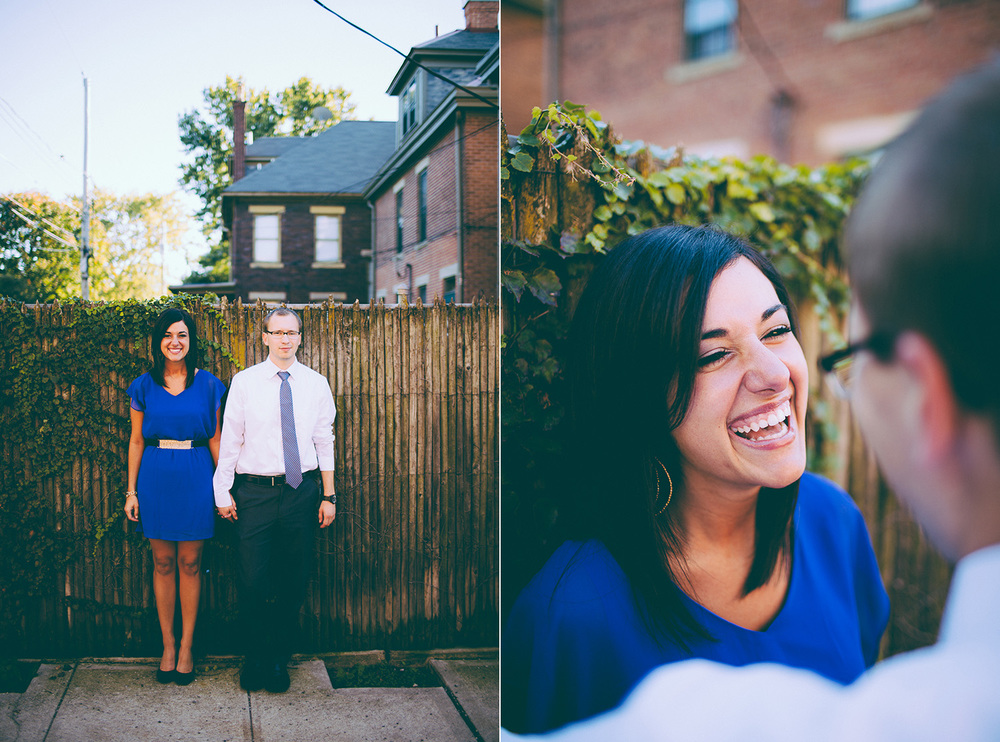Columbus Ohio Engagement Photographer in German Village Krysten and Brad 01.jpg