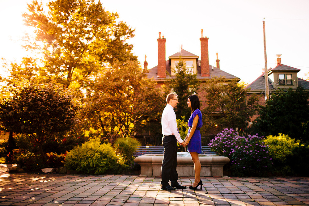 Columbus Ohio Engagement Photographer in German Village Krysten and Brad 06.jpg