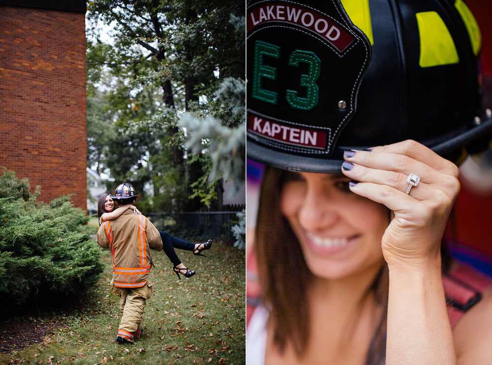 Lakewood Ohio Fire Station Engagement Photographer 07.jpg