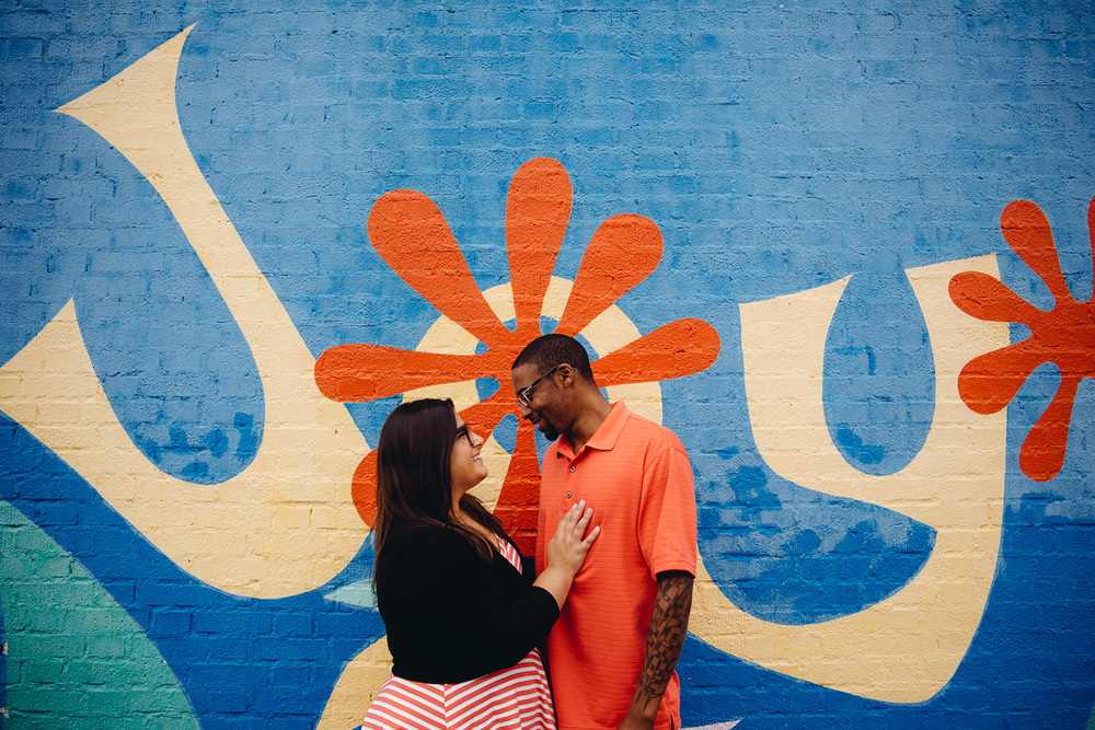 Shaina + Ron a shaker heights engagement session