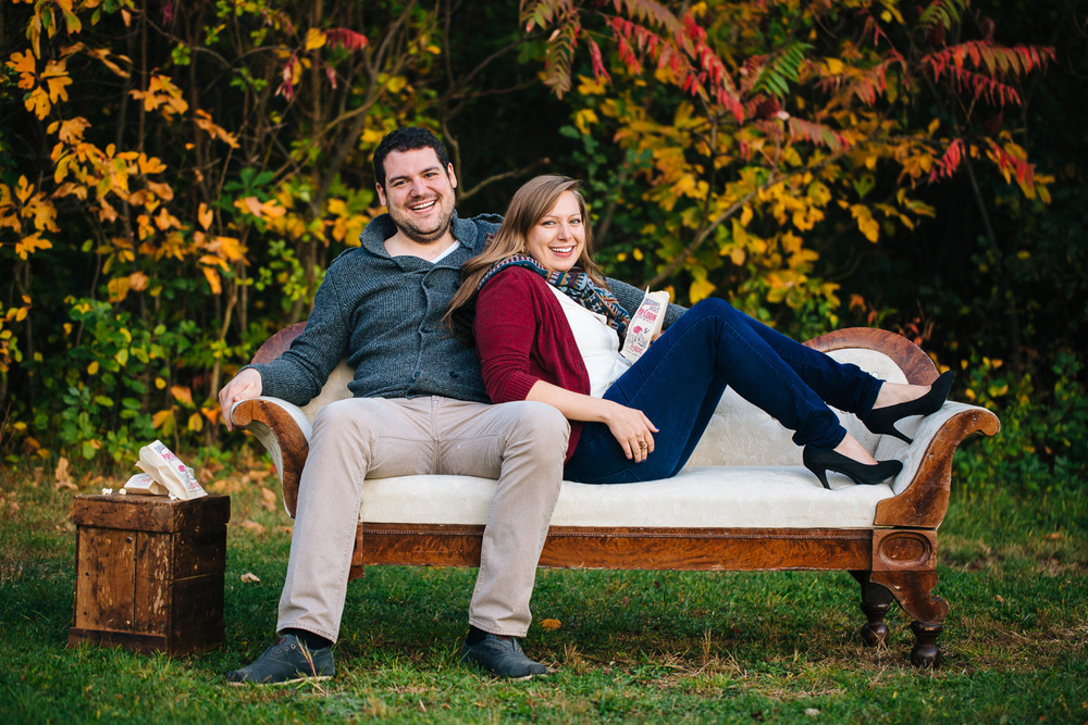 Lisa + Nick a pittsburgh engagement session