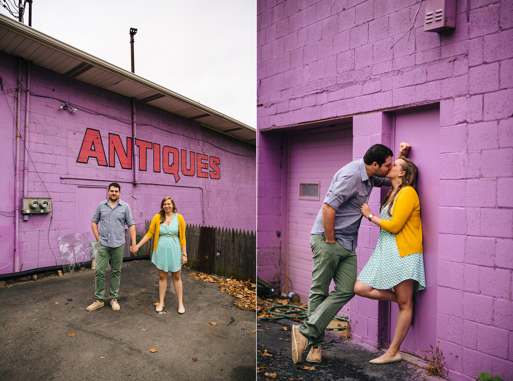 Pittsburgh Engagement Photographer at Thift Shop and Dependable Drive In 03.jpg