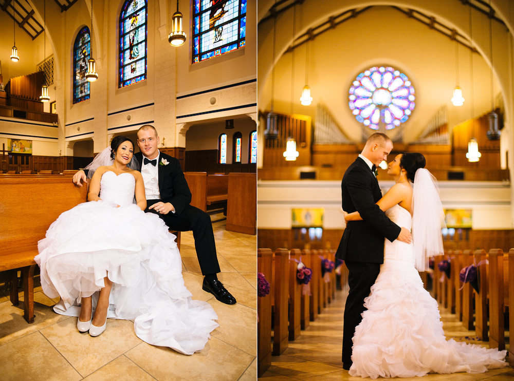 Cleveland Wedding Photographer St Christopher's Church Red Tail Golf Club 11.jpg