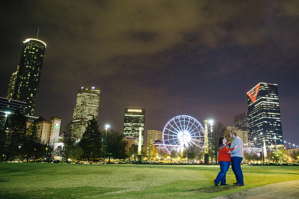 Downtown Atlanta Engagement Photograprapher - Katie and Alex 10.jpg