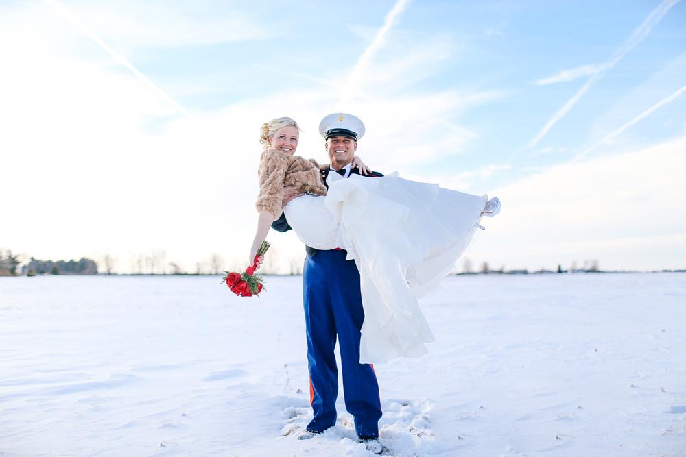 Yvette + David a winter wedding at the milan villa