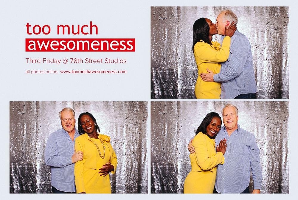 78th Street Studios photobooth at the third friday art walk may 2014