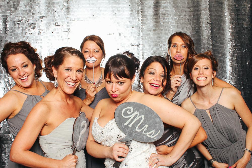 Molly + Nick photobooth photos from their wedding